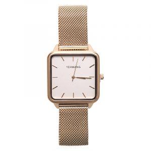 horloge vierkant goud.2