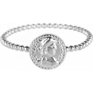 624 – zegel klein zilver
