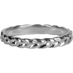 785 – braided beauty shiny steel