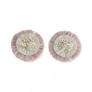 roze raffia clips