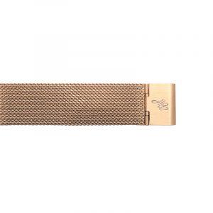 horloge vierkant goud – zwart.3