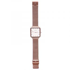 horloge vierkant rose.1