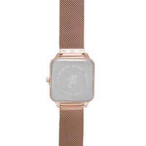 horloge vierkant rose.5