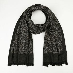 zwarte luipaard sjaal