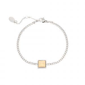armband mermaid vibes zilver – goud