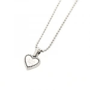 ketting be kind zilver.2